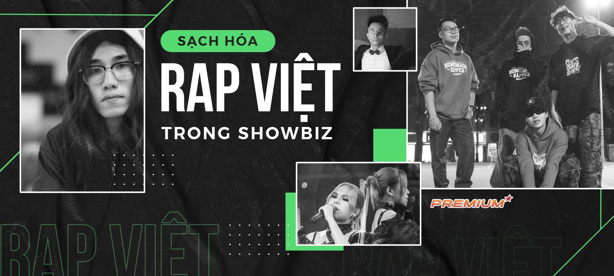 Sạch hóa rap Việt trong showbiz