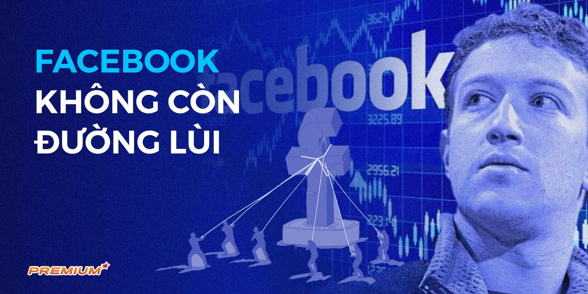 Facebook không còn đường lùi