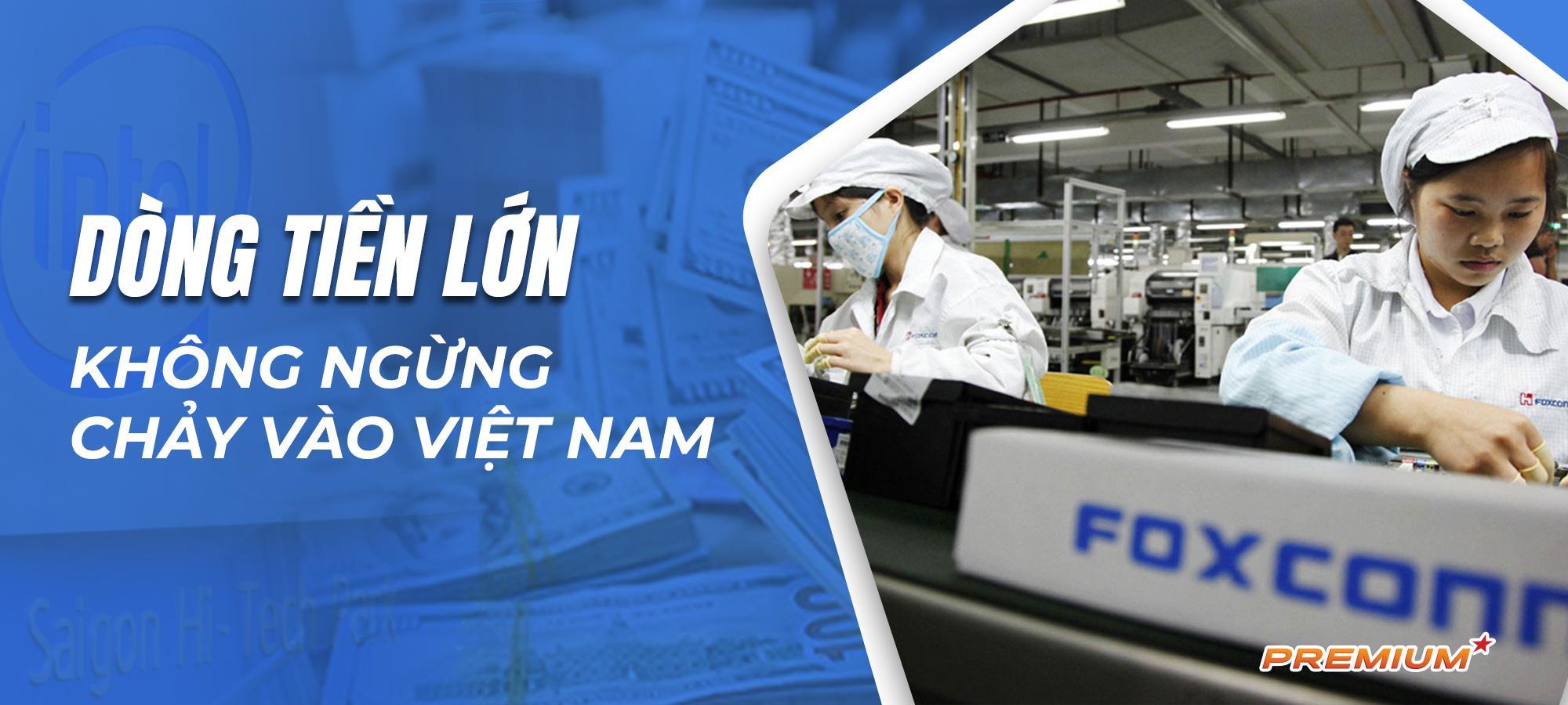 Dòng tiền lớn không ngừng chảy vào Việt Nam
