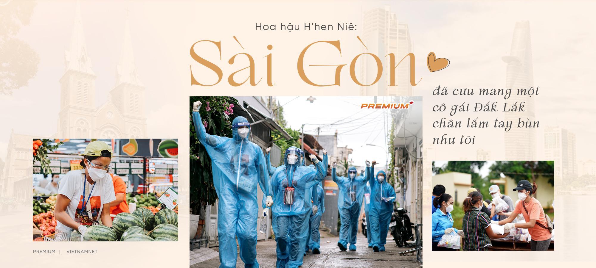 Hoa hậu H'hen Niê: Sài Gòn đã cưu mang một cô gái Đắk Lắk chân lấm tay bùn như tôi