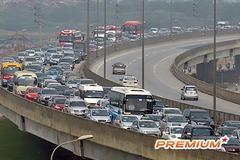 Đề xuất lập 87 trạm thu phí xe vào nội thành Hà Nội