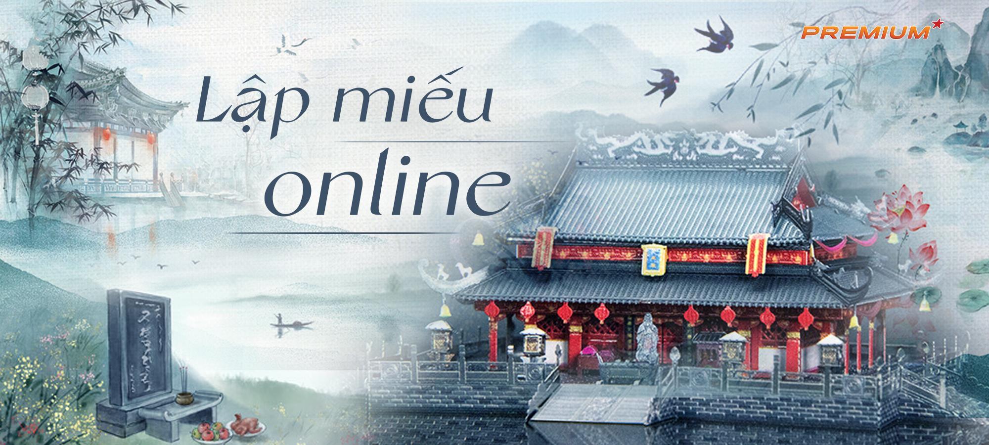 Lập miếu online