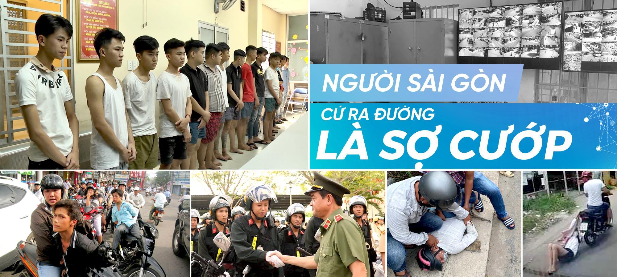 Người Sài Gòn cứ ra đường là sợ cướp