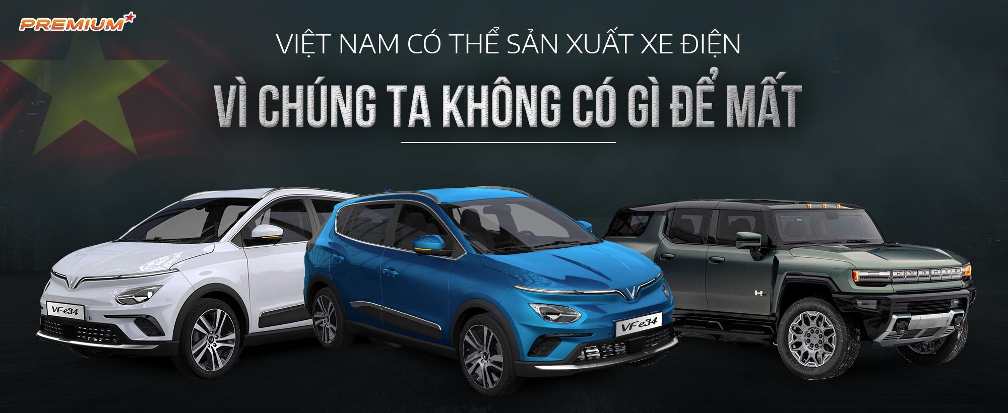 Việt Nam có thể sản xuất xe điện vì chúng ta không có gì để mất