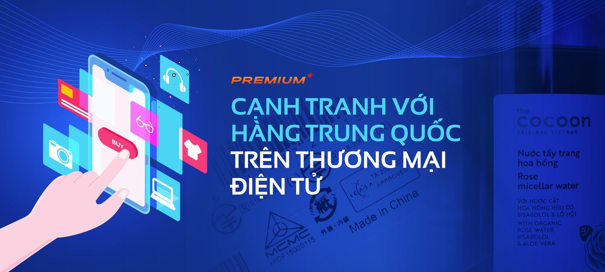 Cạnh tranh với hàng Trung Quốc trên thương mại điện tử