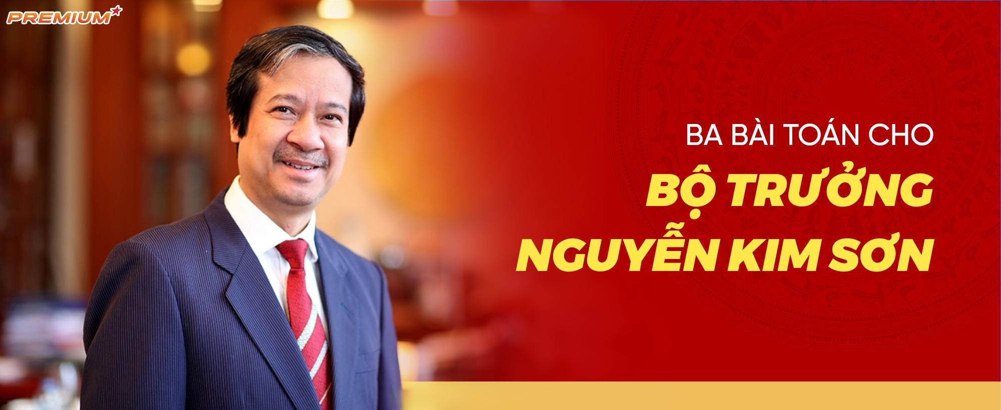 Ba bài toán cho Bộ trưởng Nguyễn Kim Sơn