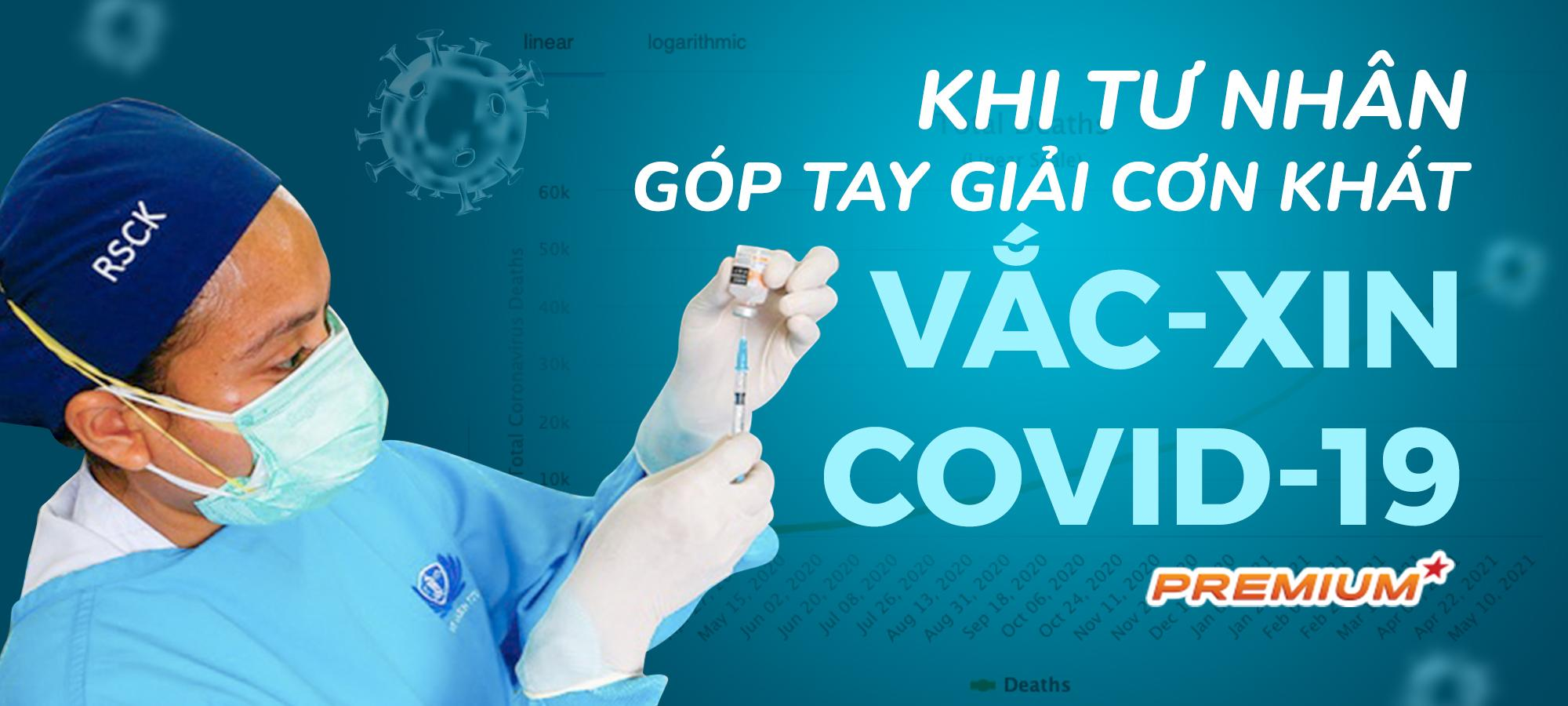 Khi tư nhân góp tay giải cơn khát vắc-xin Covid-19
