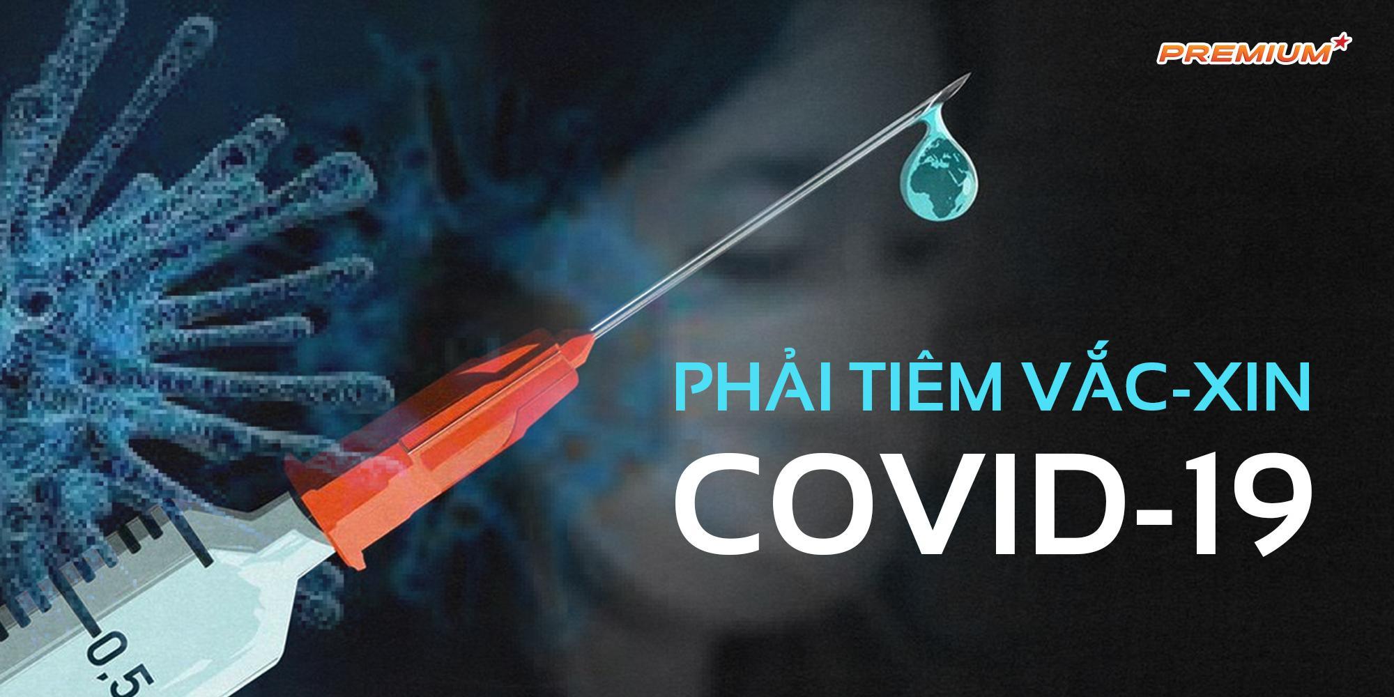 Phải tiêm vắc-xin Covid-19