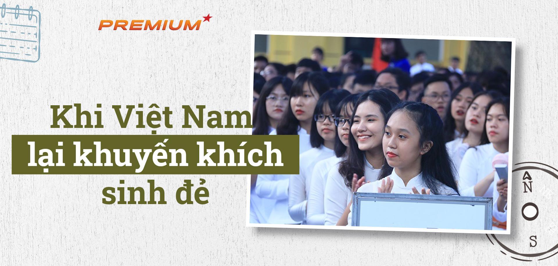 Khi Việt Nam lại khuyến khích sinh đẻ