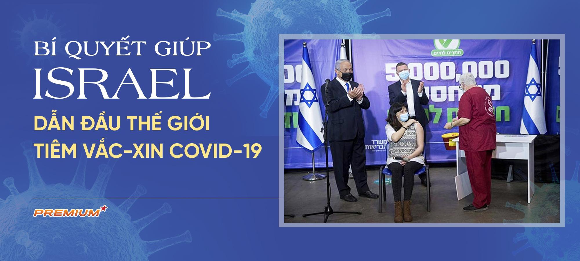 Bí quyết giúp Israel dẫn đầu thế giới tiêm vắc-xin Covid-19