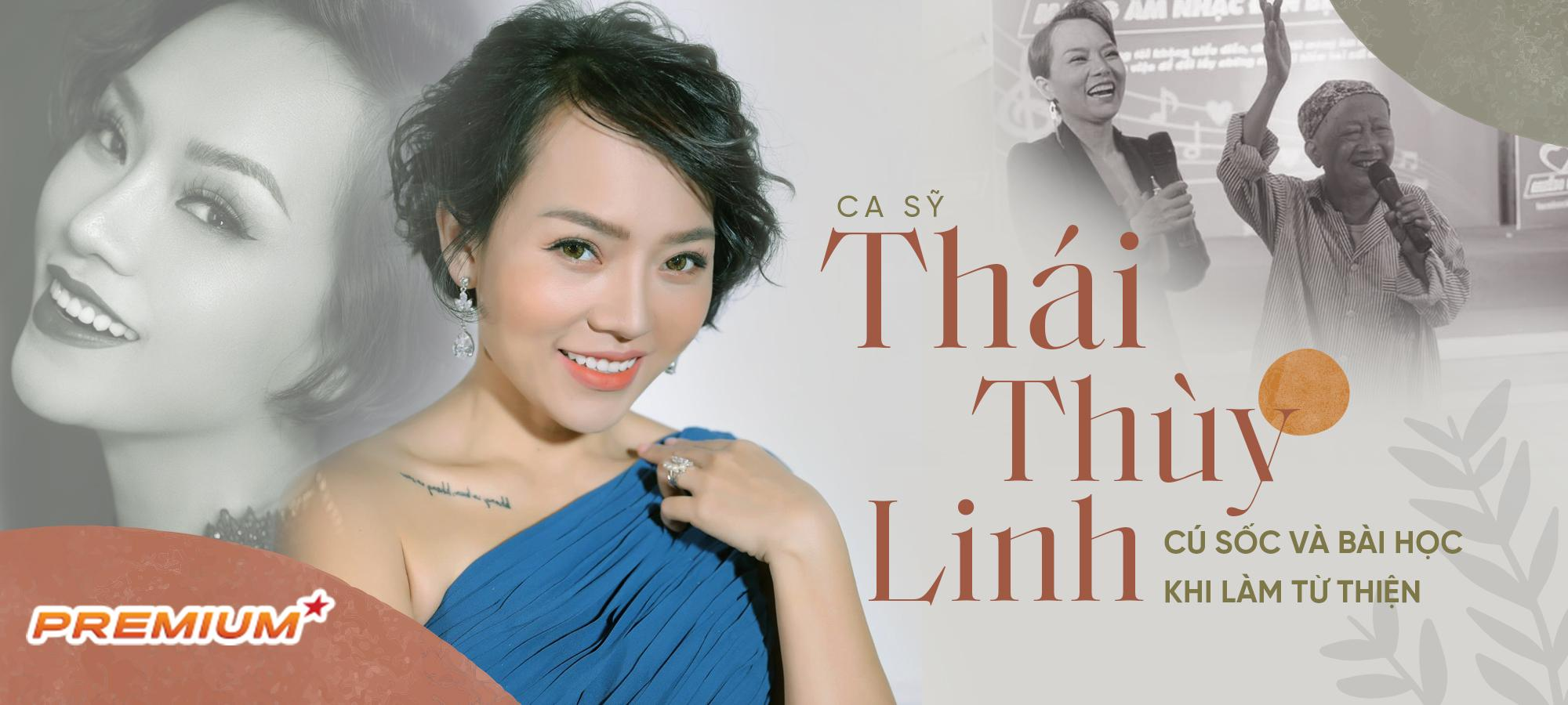 Ca sĩ Thái Thùy Linh - Cú sốc và bài học khi làm từ thiện