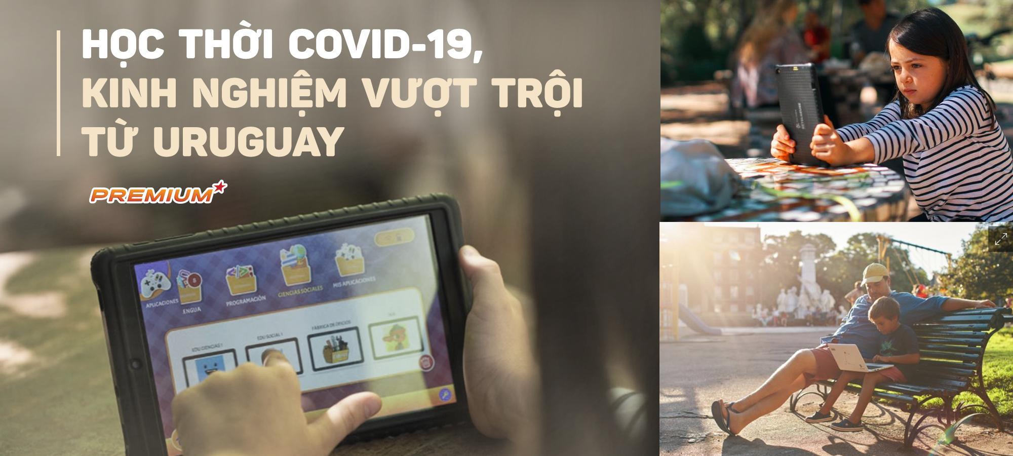 Học thời Covid-19, kinh nghiệm vượt trội từ Uruguay