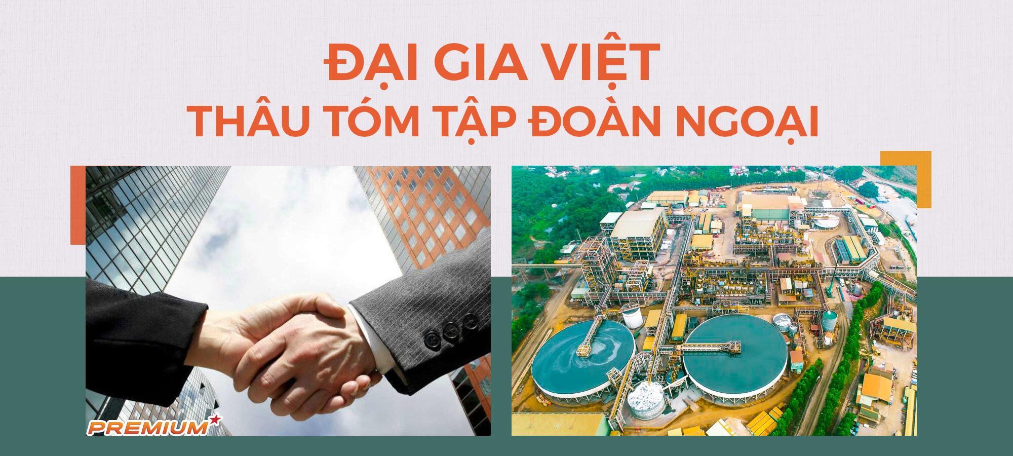 Đại gia Việt thâu tóm tập đoàn ngoại