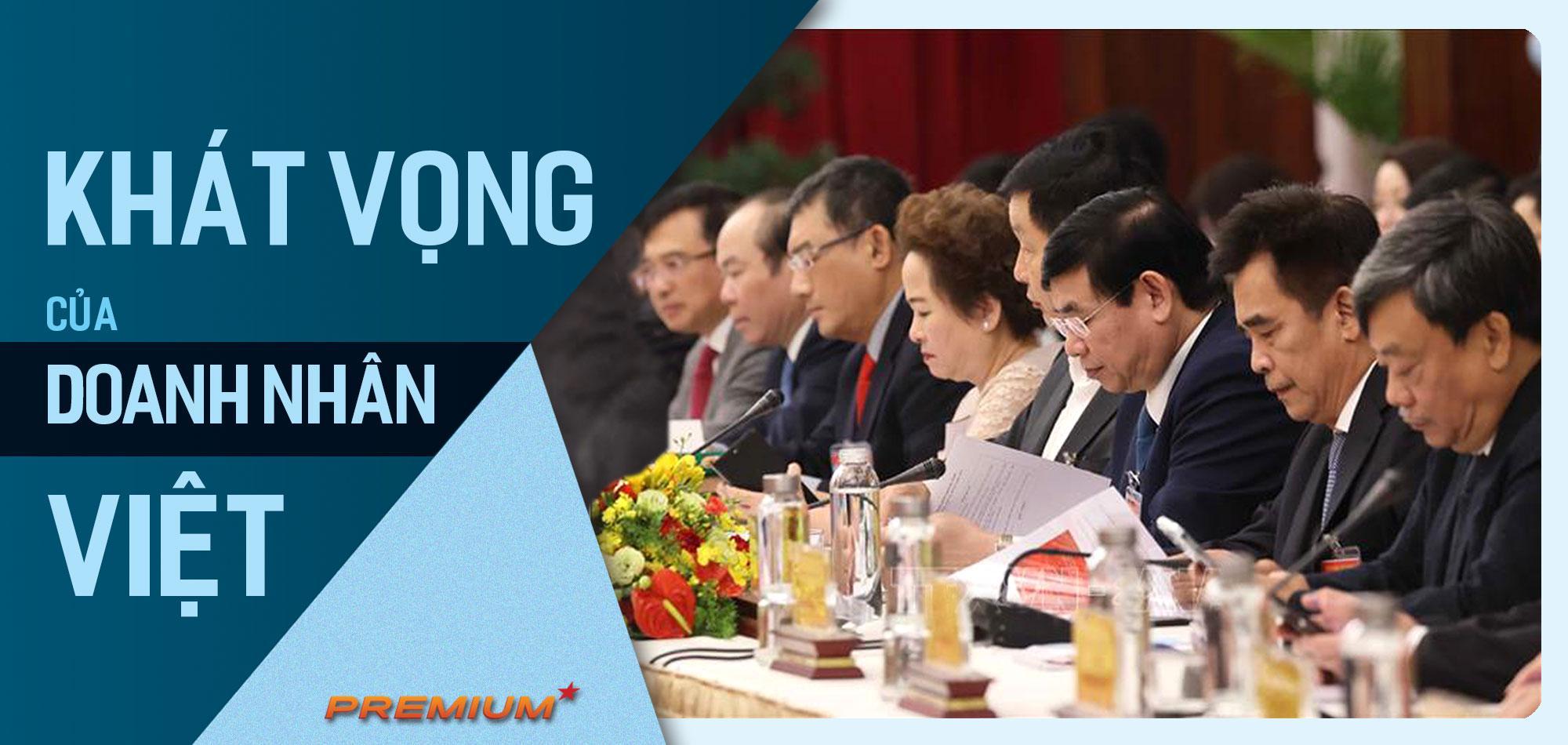 Khát vọng của doanh nhân Việt