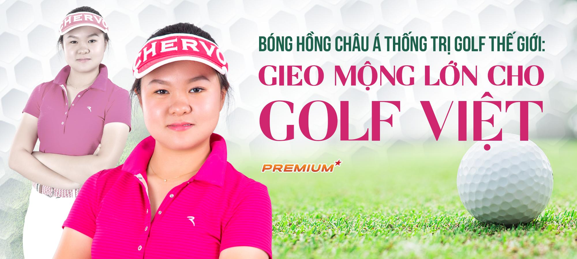 Bóng hồng châu Á thống trị golf thế giới: Gieo mộng lớn cho golf Việt