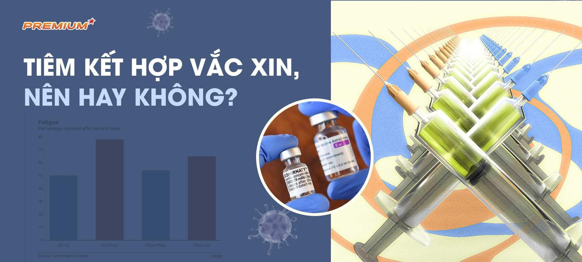 Tiêm kết hợp vắc xin, nên hay không?