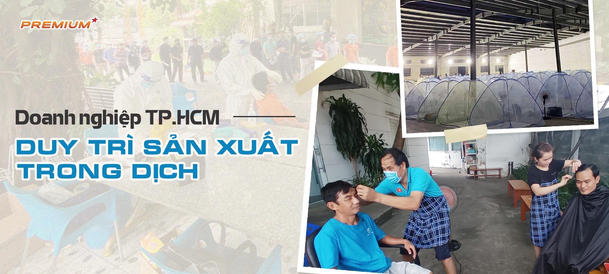 Doanh nghiệp TP.HCM duy trì sản xuất trong dịch