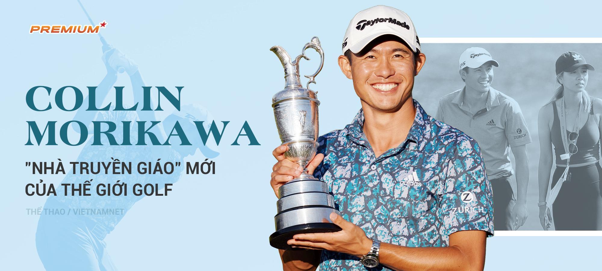 "Collin Morikawa: ""Nhà truyền giáo"" mới của thế giới golf"