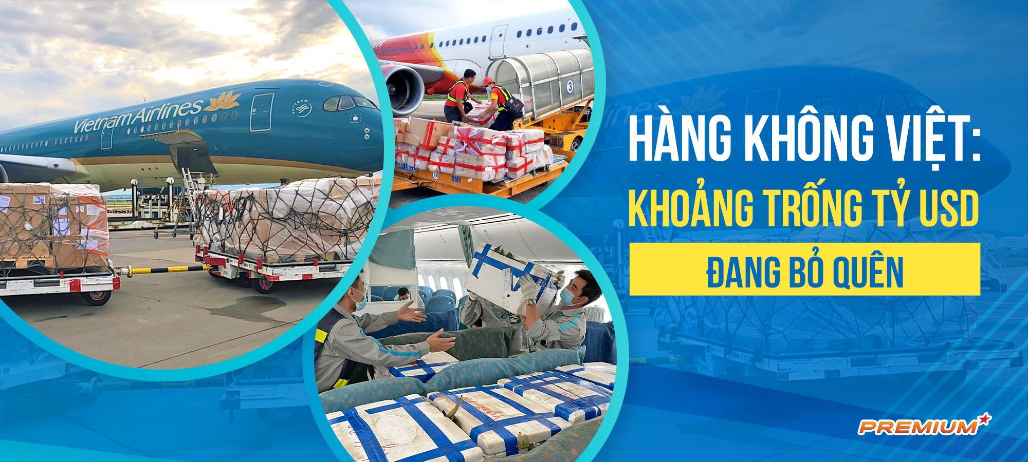 Hàng không Việt: Khoảng trống tỷ USD đang bỏ quên