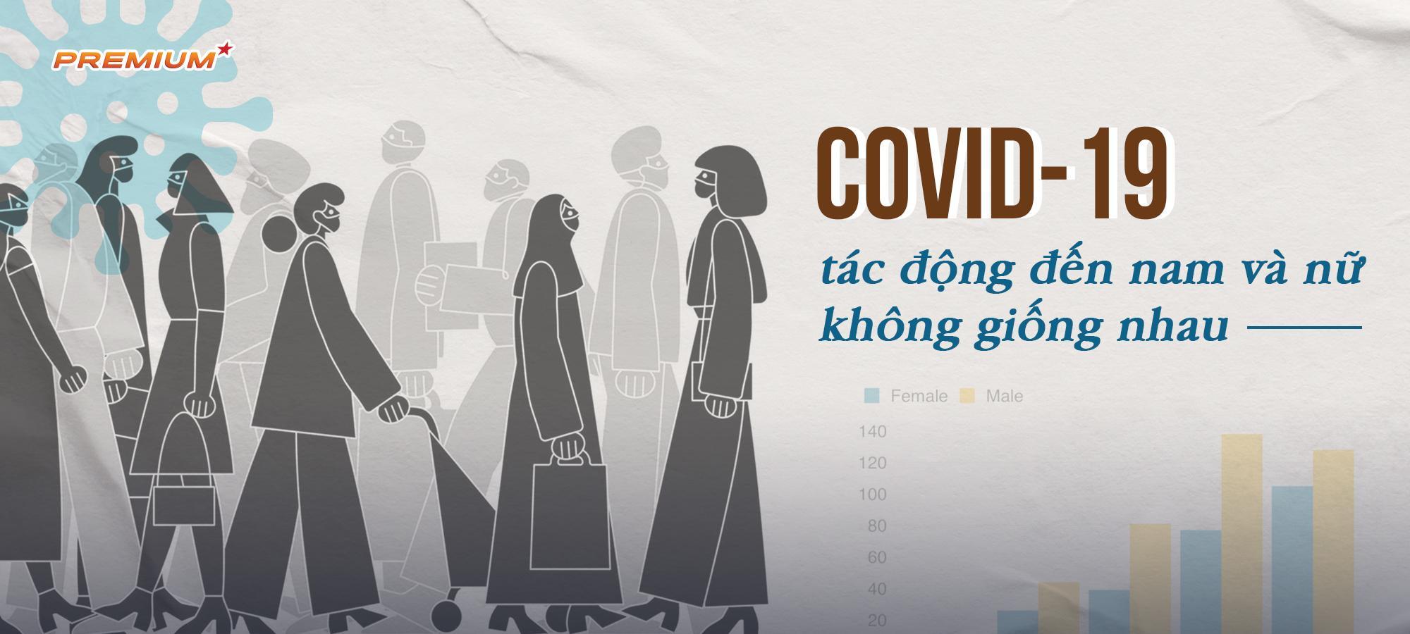 Covid-19 tác động đến nam và nữ không giống nhau
