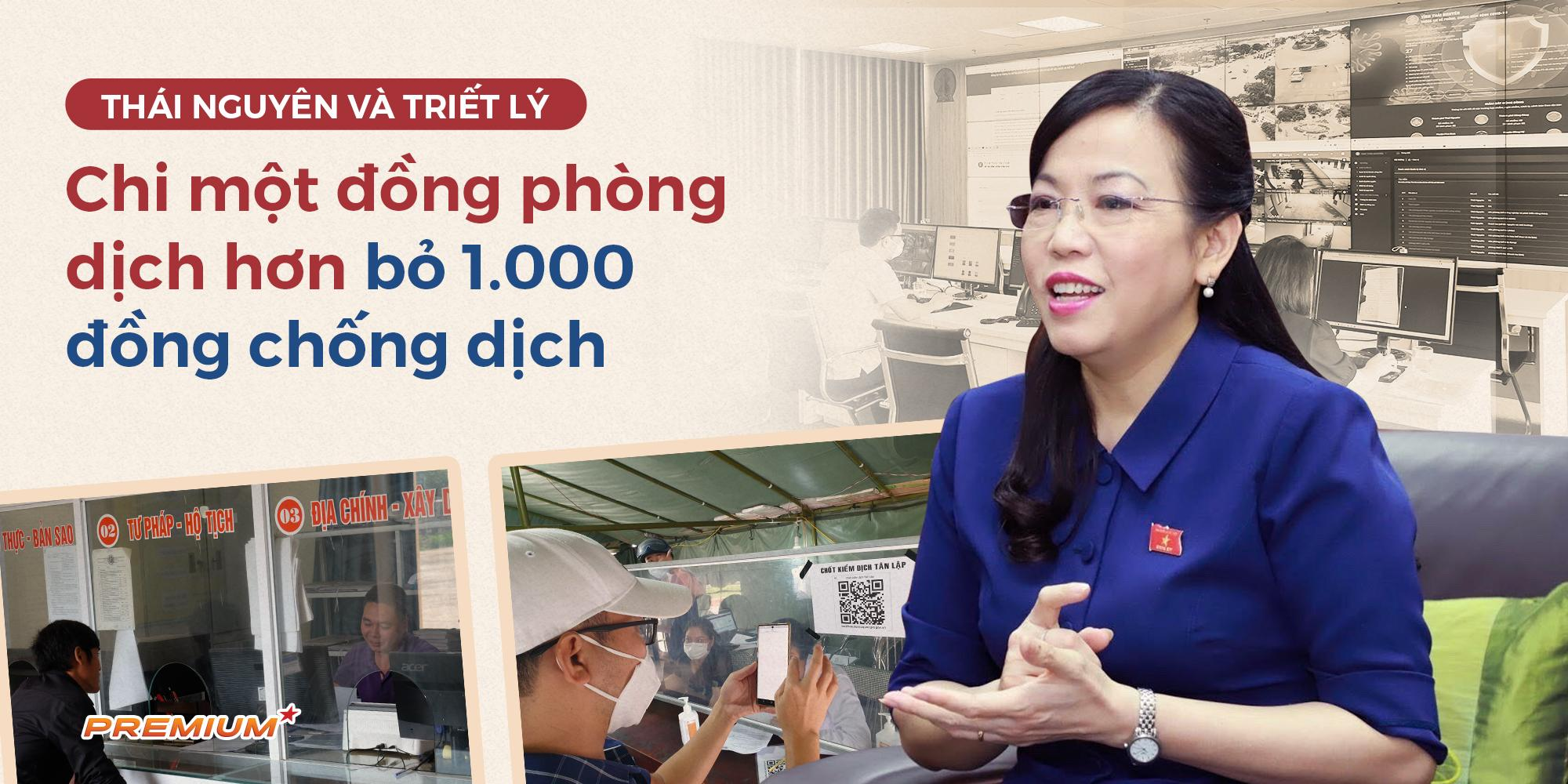 Thái Nguyên và triết lý chi một đồng phòng dịch hơn bỏ 1.000đồng chống dịch