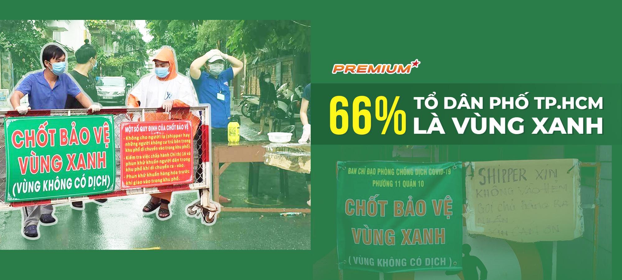 66% tổ dân phố TP.HCM là vùng xanh