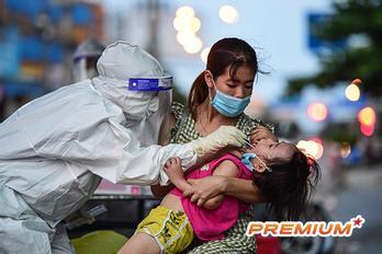 TP.HCM đang điều trị 2.890 F0 trẻ em